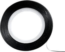 Voňavky, Parfémy, kozmetika Ozdobná páska na nechtový dizajn, čierna - Peggy Sage Decorative Nail Stickers Noir