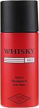Voňavky, Parfémy, kozmetika Evaflor Whisky Red For Men - Dezodorant