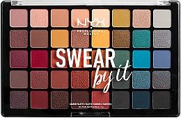 Voňavky, Parfémy, kozmetika Paleta tieňov - NYX Professional Makeup Swear By It Shadow Palette