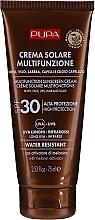 Voňavky, Parfémy, kozmetika Hydratačný krém na telo s ochranou pred slnkom SPF 30 - Pupa Multifunction Sunscreen Cream