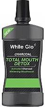 Voňavky, Parfémy, kozmetika Ústna voda - White Glo Charcoal Total Mouth Detox Mouthwash