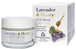 Voňavky, Parfémy, kozmetika Krém na tvár - Bulgarian Rose Lavender & Honey Cream