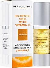 Voňavky, Parfémy, kozmetika Sérum s vitamínom C - DermoFuture Brightening Serum With Vitamin C