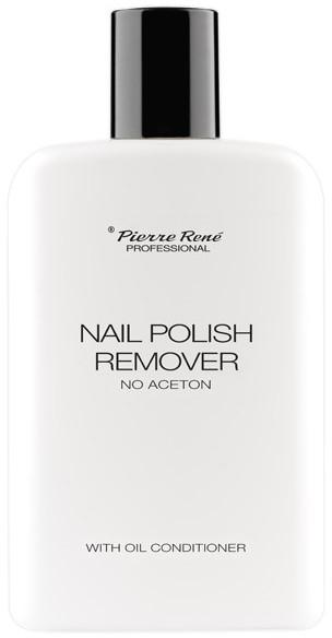 Odlakovač na nechty - Pierre Rene Nail Polish Remover With Oil Conditioner