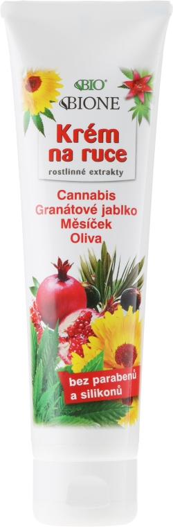 Krém na ruky - Bione Cosmetics Hand Cream with Plant Extracts