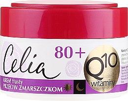 """Voňavky, Parfémy, kozmetika Krém proti vráskam """"Vitamínový"""", nasýtený - Celia Q10 Face Cream 80+"""