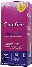 Voňavky, Parfémy, kozmetika Hygienické každodenné vložky, 20ks - Carefree Plus Large