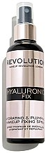 Voňavky, Parfémy, kozmetika Sprej upevňujúci make-up - Makeup Revolution Hyaluronic Fix Spray