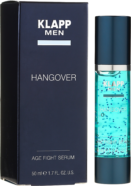 Pánske sérum na tvár - Klapp Men Hangover Age Fight Serum