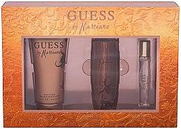 Voňavky, Parfémy, kozmetika Guess by Marciano - Sada (edt/100ml + b/lot/200ml + edt/15ml)