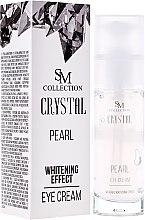 Voňavky, Parfémy, kozmetika Prírodný perlový očný krém - Hristina Cosmetics SM Crystal Pearl Eye Cream