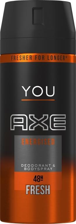 Dezodoračný sprej - Axe You Energised Fresh Deodorant Spray — Obrázky N1