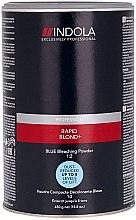 Voňavky, Parfémy, kozmetika Bezprašný zosvetľujúci púder svetlomodrý - Indola Profession Rapid Blond+ Blue Dust-Free Powder
