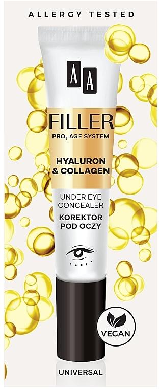 Korektor na očí - AA Filler Under Eye Concealer