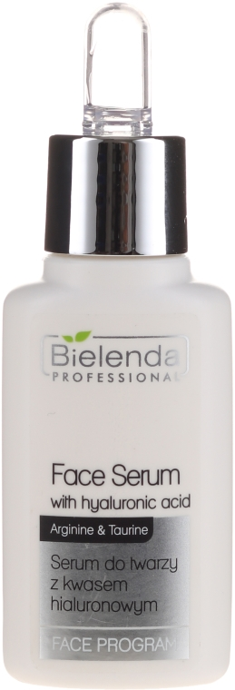 Sérum na tvár s kyselinou hyalurónovou - Bielenda Professional Program Face Serum With Hyaluronic Acid