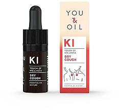 Voňavky, Parfémy, kozmetika Zmes éterických olejov - You & Oil KI-Dry Cough Touch Of Welness Essential Oil