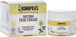 Voňavky, Parfémy, kozmetika Krém na tvár zmäkčujúci - Dr. Konopka's Soothing Face Cream