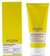 Voňavky, Parfémy, kozmetika Výživný krém s grapefruitom pre pružnosť tela - Decleor Tonic Grapefruit Body Firming Cream