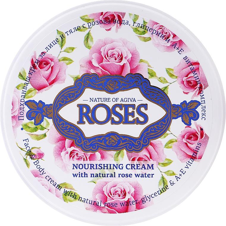 Univerzálny výživný krém - Nature of Agiva Roses Face Cream