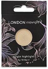 Voňavky, Parfémy, kozmetika Rozjasňovač na tvár - London Copyright Magnetic Face Powder Highlight (Moonshine)