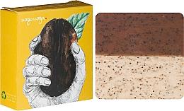 Voňavky, Parfémy, kozmetika Prírodné mydlo-peeling s mätovým olejom a kávou - Uoga Uoga Care for Coffee? Soap