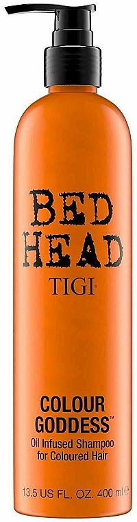 Šampón zvyšujúci intenzitu farby - Tigi Bed Head Colour Goddess Oil Infused Shampoo