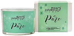 Voňavky, Parfémy, kozmetika Organická sviečka - PuroBio Home Organic Pure