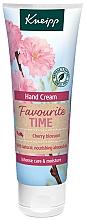 Voňavky, Parfémy, kozmetika Krém na ruky Obľúbený čas - Kneipp Favourite Time Cherry Blossom Hand Cream
