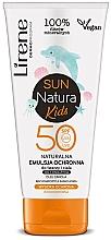 Voňavky, Parfémy, kozmetika Emulzia na opaľovanie SPF 50+, pre deti - Lirene Sun Natura Kids Protective Emulsion SPF50+
