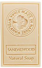 Voňavky, Parfémy, kozmetika Prírodné mydlo Santalové drevo - Stara Mydlarnia Body Mania Sandalwood Natural Soap
