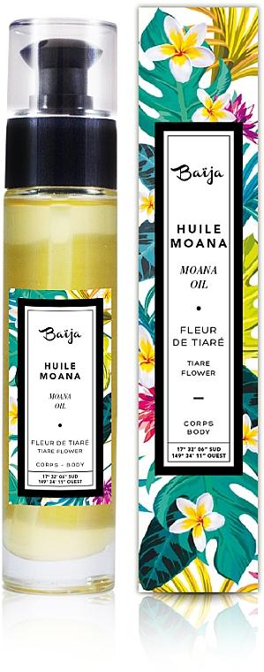 Olej na telo a do kúpeľa - Baija Moana Rich Body & Bath Oil