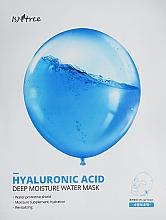 Voňavky, Parfémy, kozmetika Hydratačná maska s kyselinou hyalurónovou - Isntree Hyaluronic Acid Deep Moisture Water Mask