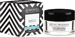 Voňavky, Parfémy, kozmetika Krém na tvár zmatňujúci pre mastnú a kombinovanú pleť - Markell Cosmetics Detox Program Face Cream