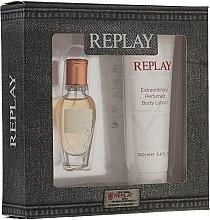 Voňavky, Parfémy, kozmetika Replay Jeans Original for Her - Sada (edt 20ml + b/l 100ml)