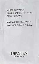 """Voňavky, Parfémy, kozmetika Čistiaca maska na tvár """"Biela hlina"""" - Pilaten White Clay Mask Blackhead Extraction Acne Removal (tester)"""