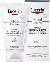 Voňavky, Parfémy, kozmetika Kém na atopickú pokožku rúk - Eucerin AtopiControl Intensiv Hand Creme