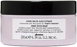Voňavky, Parfémy, kozmetika Výživný kondicionér na vlasy - Davines Your Hair Assistant Prep Rich Balm
