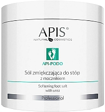 Voňavky, Parfémy, kozmetika Zjemňujúca soľ s močovinou na nohy - Apis Professional Api-Podo Softening Foot Salt With Urea