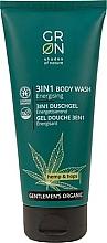 Voňavky, Parfémy, kozmetika Sprchový gél 3v1 - GRN Gentlemen's Organic Hemp & Hop 3-in-1 Body Wash