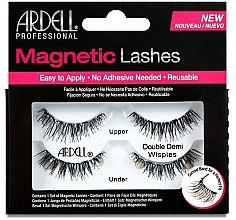 Voňavky, Parfémy, kozmetika Falošné riasy - Ardell Magnetic Strip Lash Double Demi Wispies