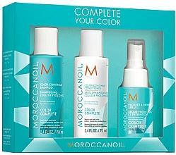 Voňavky, Parfémy, kozmetika Sada - Moroccanoil Travel Kit Color Complete (shm/70ml + cond/70ml + spray/50ml)