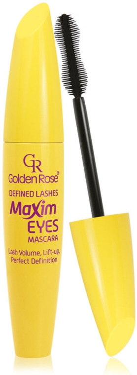 Maskara - Golden Rose Defined Lashes Maxim Eyes Mascara