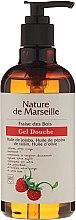 Voňavky, Parfémy, kozmetika Sprchový gél s prírodnými olejmi a jahodovou príchuťou - Nature de Marseille Strawberries Shower Gel
