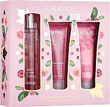 Voňavky, Parfémy, kozmetika Caudalie Rose De Vigne - Sada (edt/50ml + sh/gel/50ml + lot/50ml)