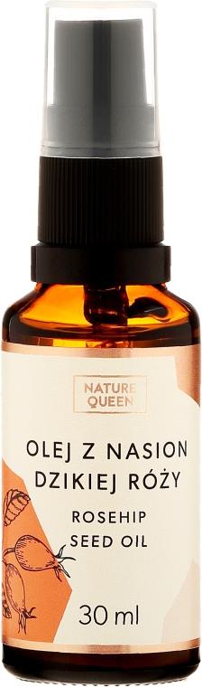 Kozmetický olej šípky - Nature Queen Rosehip Seed Oil