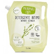 Voňavky, Parfémy, kozmetika Antibakteriálne mydlo na intímnu hygienu s extraktom z organického tymiánu - Ekos Personal Care Thyme Intimate Cleanser (vymeniteľná jednotka)