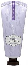 Voňavky, Parfémy, kozmetika Krém na ruky s pižmom - Welcos Around Me Happiness Hand Cream Musk