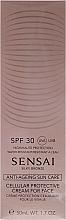 Voňavky, Parfémy, kozmetika Opaľovací krém na tvár SPF30 - Kanebo Sensai Cellular Protective Cream For Face