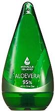 """Voňavky, Parfémy, kozmetika Gél na tvár, telo a vlasy """"Aloe Vera"""" - Miracle Island Aloevera 95% All In One Gel"""