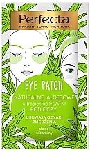 Voňavky, Parfémy, kozmetika Náplasti pod oči - Perfecta Eye Patch Aloe & Vitamins